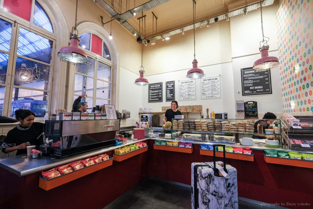 布萊頓美食, Brighton 車站早餐, 酪梨貝果, 酪梨料理