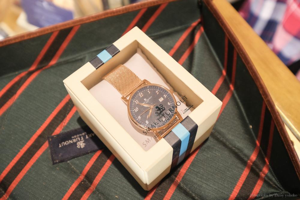 英國Smart Turnout, 英倫風手錶, 英國設計, 倫敦手錶推薦, 真皮手錶, 對錶推薦, 英國製造, SmartTurnout 優惠碼, 全球免運