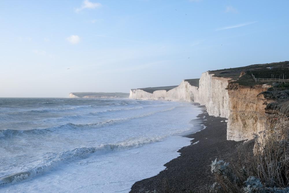 七姊妹斷崖, Seven Sisters Cliff, 七姊妹巖, 布萊頓近郊, 倫敦近郊, Eastbourne, 世界的盡頭, 七姊妹交通