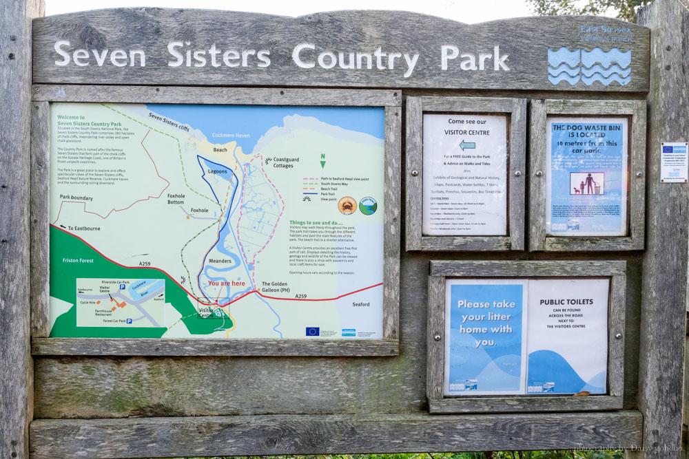 Seven Sisters Cliff, 七姊妹巖, 布萊頓近郊, 倫敦近郊, Eastbourne, 世界的盡頭, 七姊妹交通