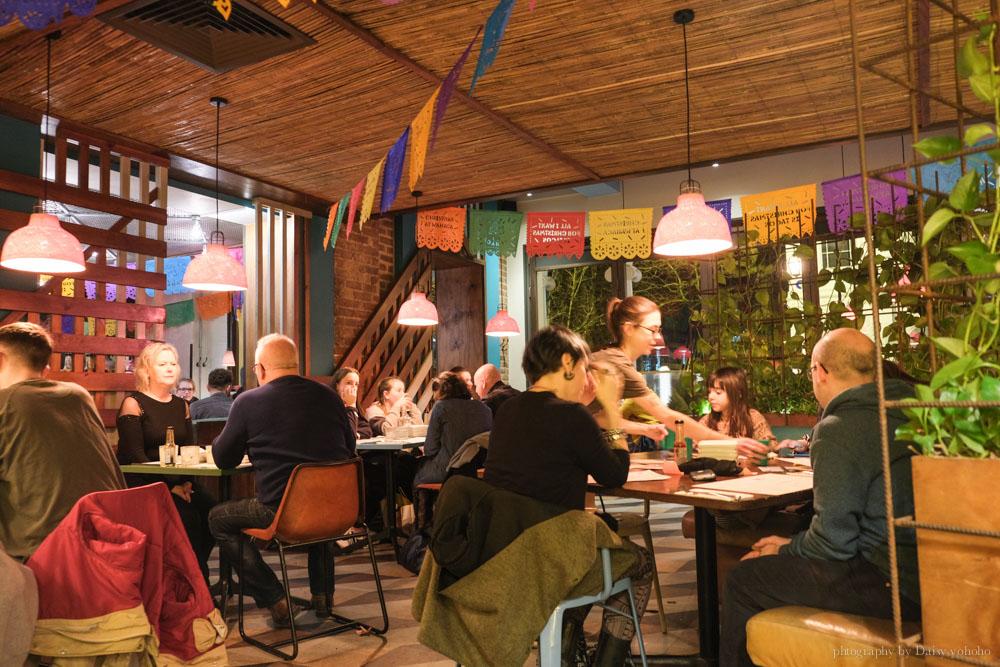 墨西哥料理, 英國美食, Brighton 餐廳, 墨西哥菜, Tacos, nachos, 墨西哥捲餅, 墨西哥夾餅, 英國餐廳