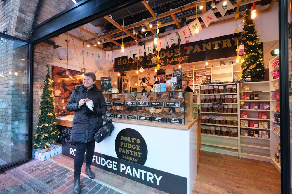 Roly's Fudge London, Camden Market, 肯頓市集, 倫敦景點, 倫敦市集, 倫敦小吃, 英國倫敦, Camden Town
