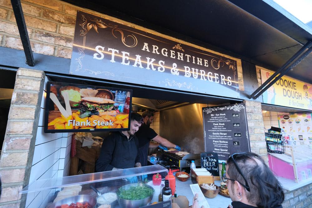 Asador Argentine Steaks & Burger, Camden Market, 肯頓市集, 倫敦景點, 倫敦市集, 倫敦小吃, 英國倫敦, Camden Town