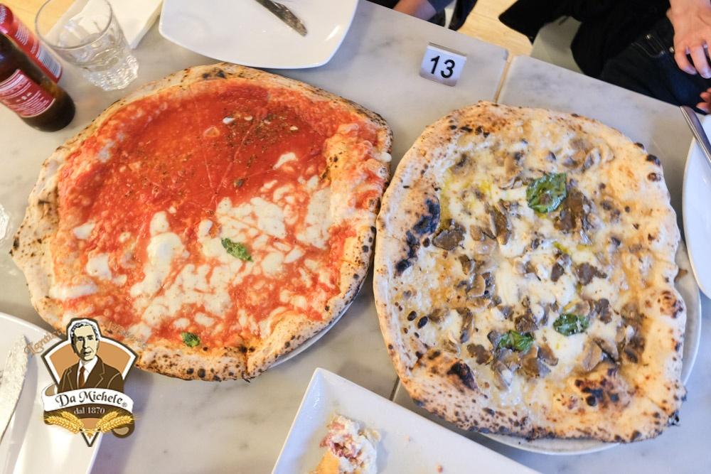 L'antica Pizzeria Da Michele, 倫敦美食, 倫敦披薩, 貝克街美食, 拿坡里披薩, 義大利餃, 松露披薩, 瑪格麗特