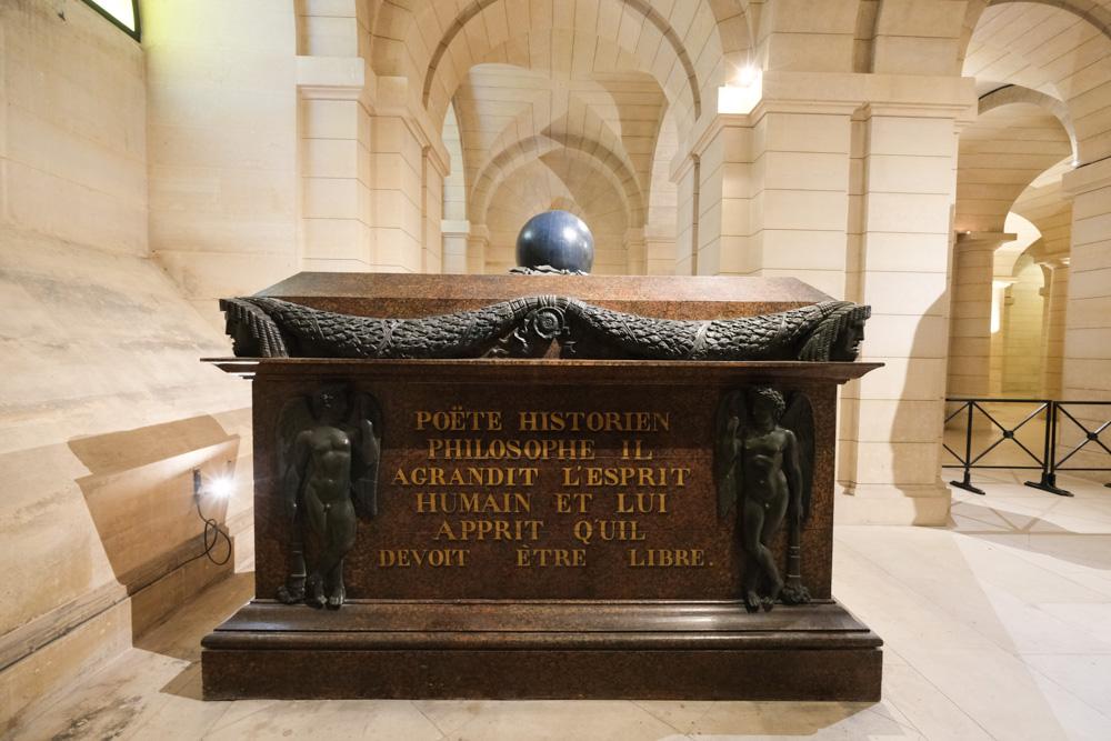 巴黎萬神殿, 巴黎景點, 法國自由行, 賢祠堂, 法國名人埋葬地, 先賢祠