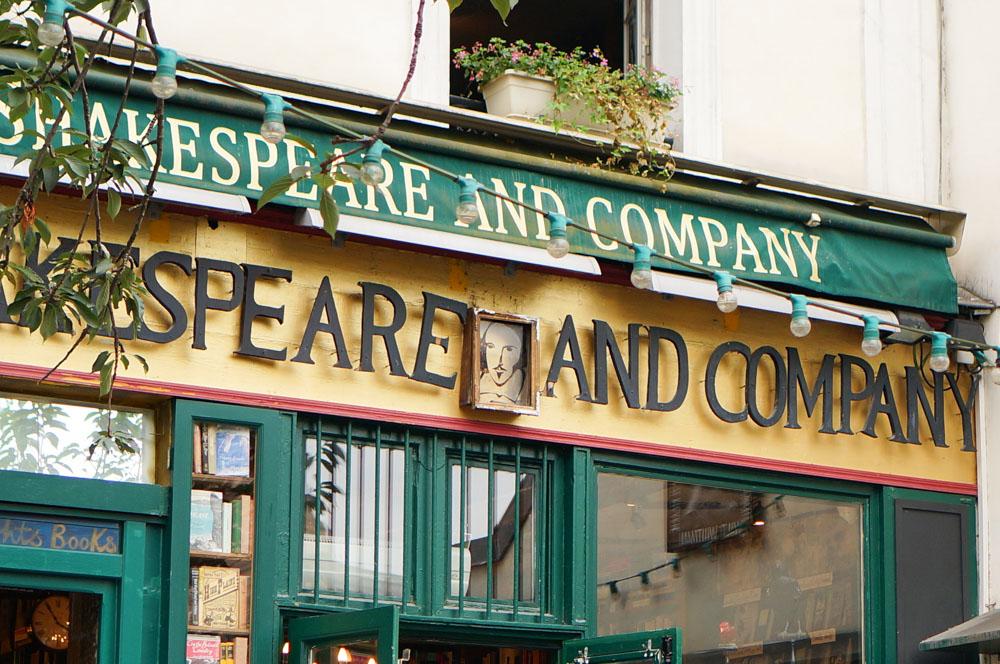 Shakespeare & Company, 左岸景點, 巴黎景點, 巴黎自由行, 法國自助