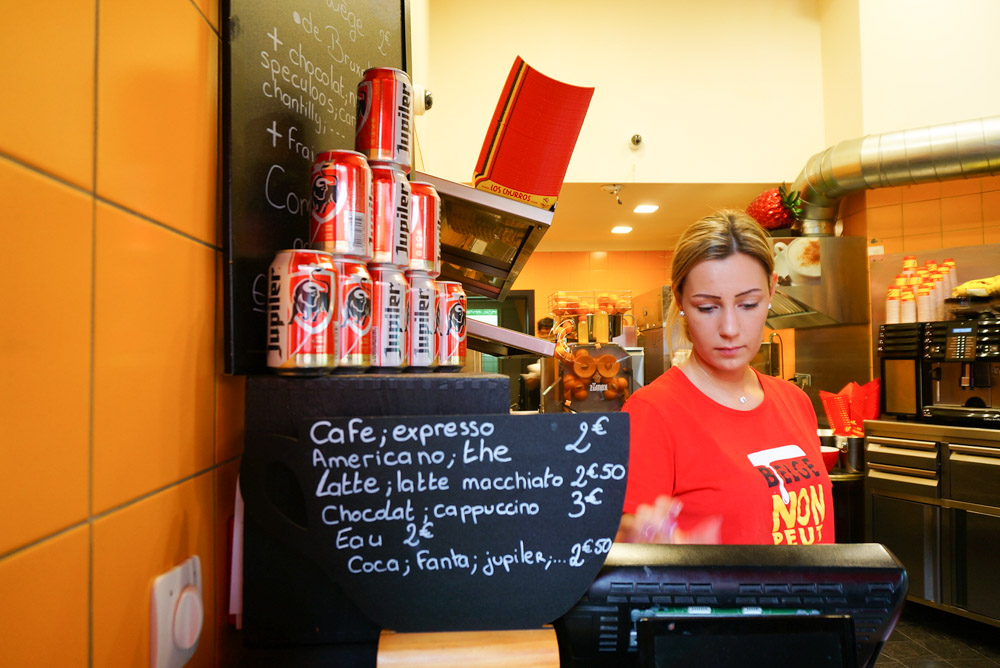Los Churros & Waffle, 布魯塞爾, 布魯塞爾美食, 布魯塞爾鬆餅, 比利時列日鬆餅