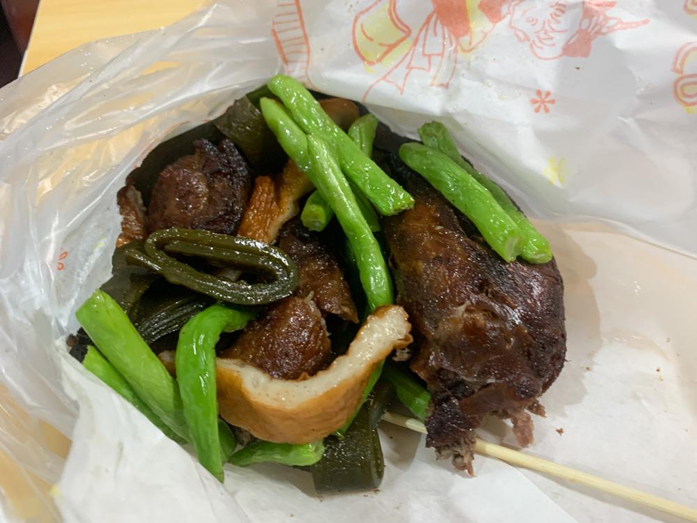 嘉義台林街美食, 台林街小吃, 嘉義東山鴨頭, 甜不辣