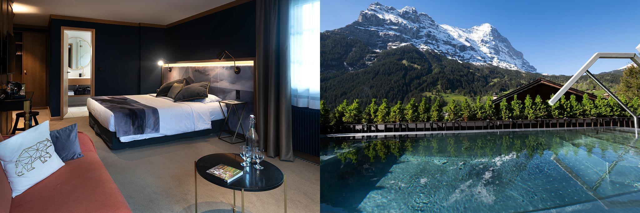 Boutique Hotel Glacier, 冰川精品酒店, 格林德瓦飯店, 瑞士飯店, Grindelwald Hotel