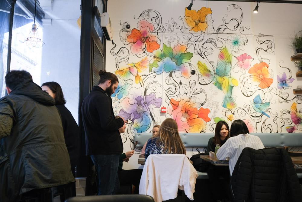 英國美食, 倫敦美食, 酪梨開放三明治, 酪梨料理, 熱巧克力, 王十字車站美食, 倫敦咖啡廳