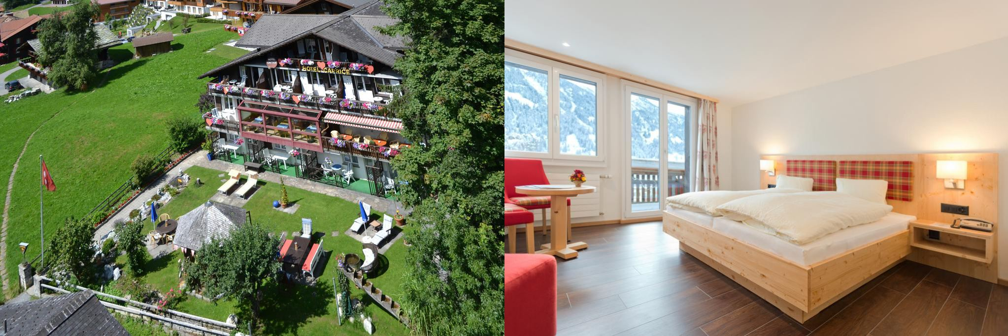 Hotel Caprice, 格林德瓦住宿, 格林德瓦飯店, 瑞士飯店, Grindelwald Hotel