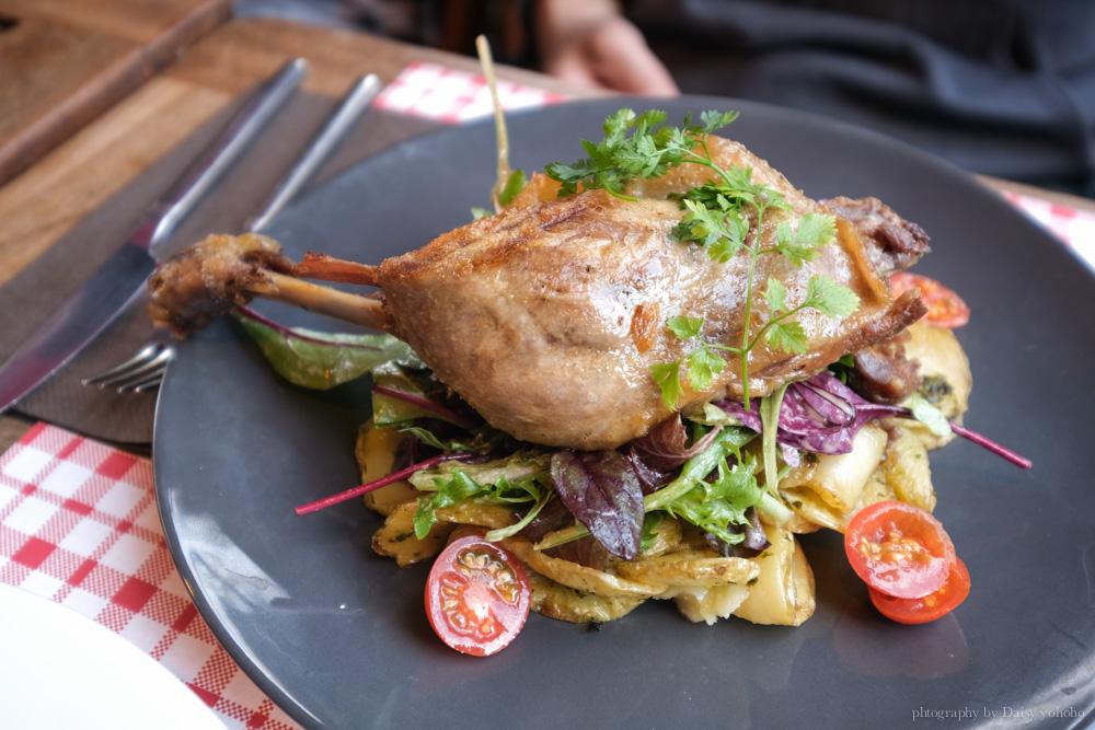 法式料理, 巴黎小餐館, 油封鴨, 牛排, 雞肉燉飯, 萬神殿美食