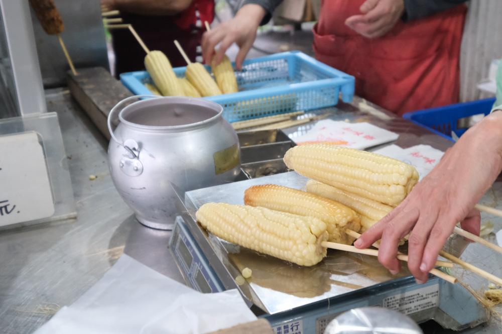 知味鄉玉米, 北海岸美食, 萬里美食, 北海岸烤玉米, 萬里小吃