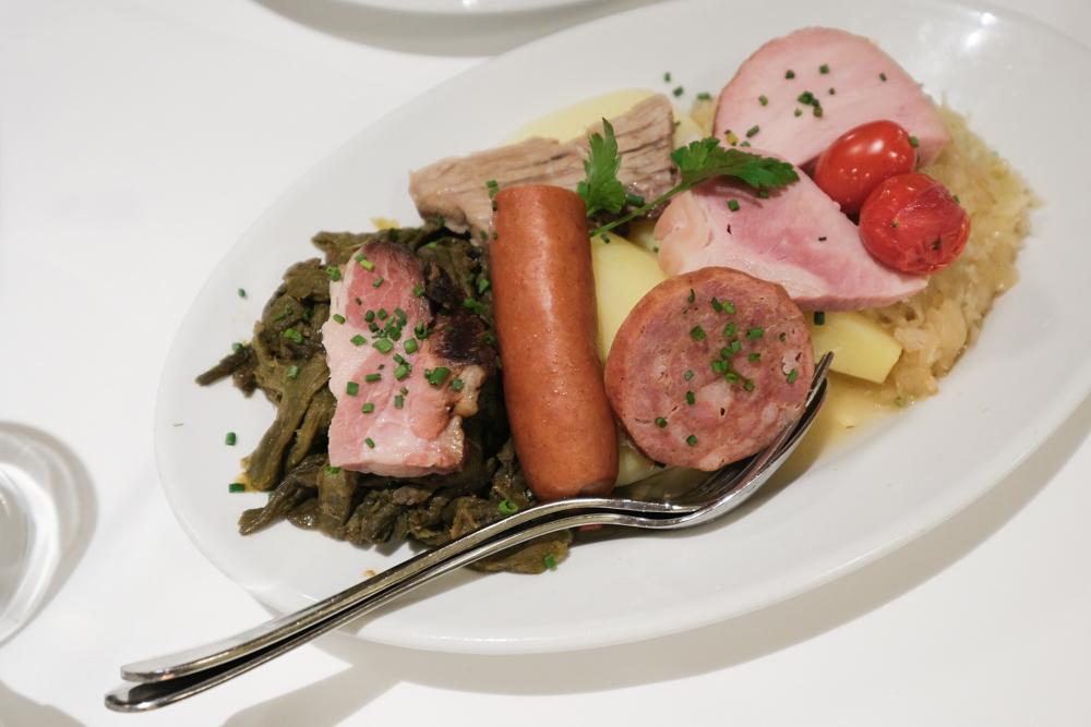 伯恩地窖餐廳, 伯恩美食, 瑞士美食, 伯恩盤, 瑞士傳統料理, 伯恩盤