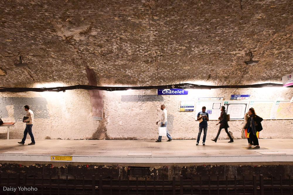 巴黎交通, 巴黎地鐵, 夏特雷站