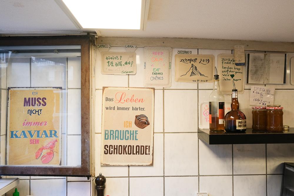 Stefanie's Creperie, 策馬特可麗餅, 策馬特美食, 策馬特小吃, 馬特洪峰美食, 瑞士美食