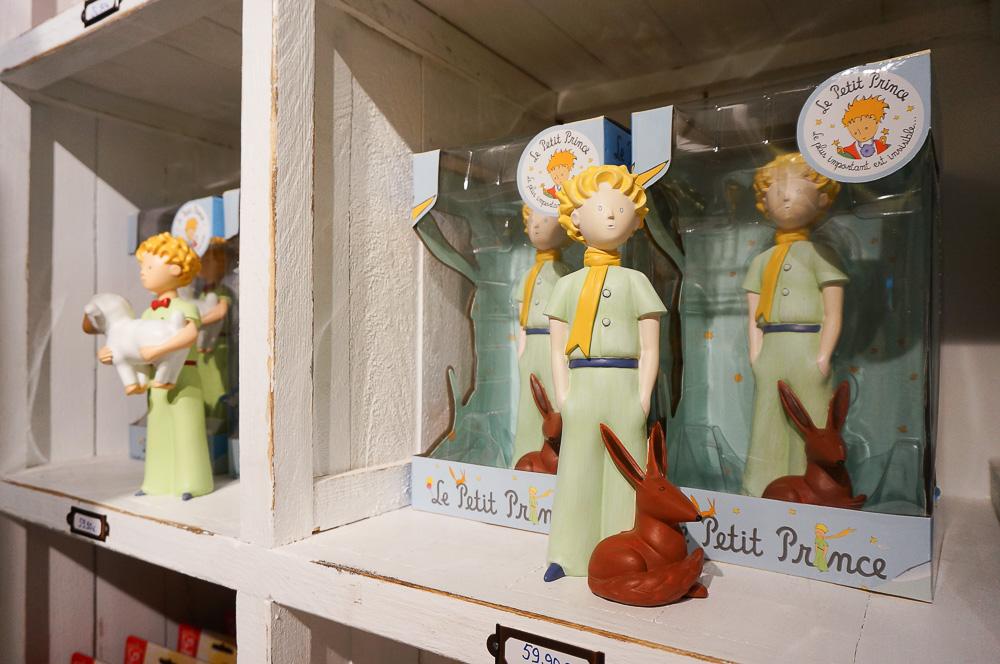 Le petite prince, 小王子店舖, 巴黎小王子店, 小王子狐狸, 小王子紀念品, 法國繪本