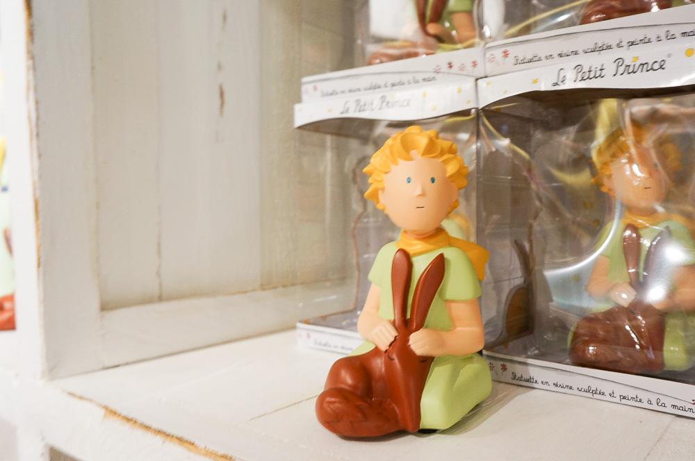 Le petite prince, 小王子, 巴黎小王子店, 小王子狐狸, 小王子紀念品, 法國繪本
