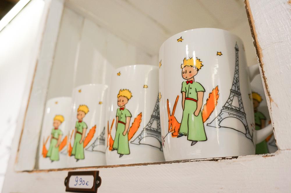 Le petite prince, 小王子店鋪, 巴黎小王子店, 小王子狐狸, 小王子紀念品, 法國繪本