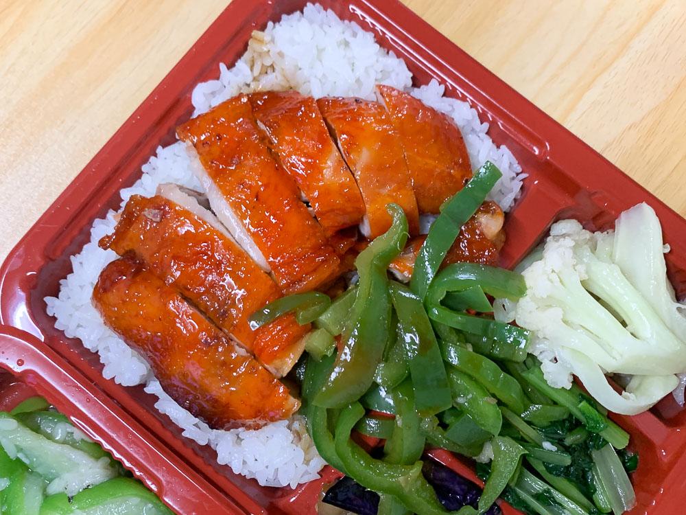 台林街美食, 嘉義美食, 嘉義燒臘, 蜜汁雞腿飯, 鹹豬肉飯, 排隊店