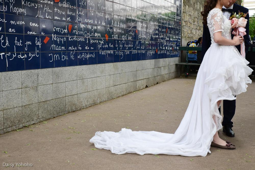 蒙馬特高地, 紅磨坊, 穿牆人, 聖心堂, 巴黎景點, 我愛你牆, 愛牆