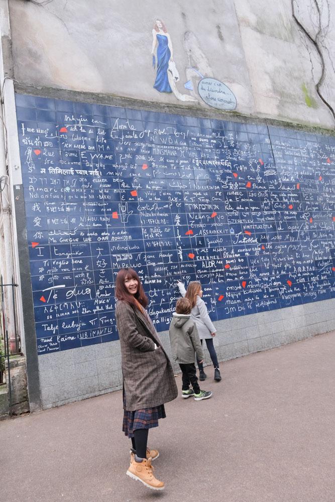 蒙馬特高地, 紅磨坊, 穿牆人, 聖心堂, 巴黎景點, 我愛你牆