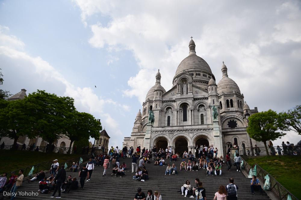 蒙馬特, 紅磨坊, 穿牆人, 聖心堂, 巴黎景點, 我愛你牆, 愛牆