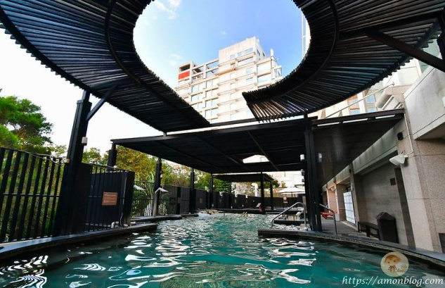 清新溫泉飯店,IG網美打卡專屬花牆,客房有湯池, 台中住宿推薦
