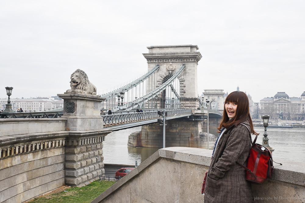 塞切尼鎖鏈橋, 布達佩斯景點, 布達佩斯自由行, 匈牙利自助旅行, Széchenyi Lánchíd