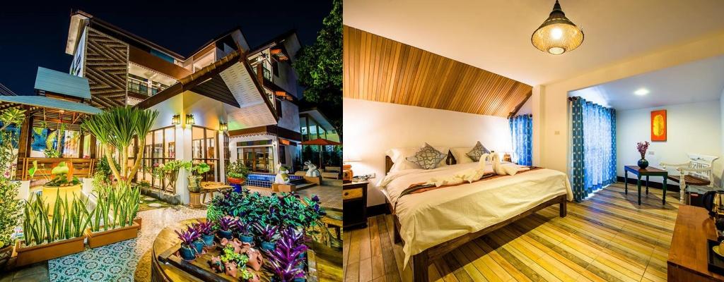 和泰精品旅館, 清邁住宿, 清邁平價住宿, 清邁飯店, Chiangmun Bontique
