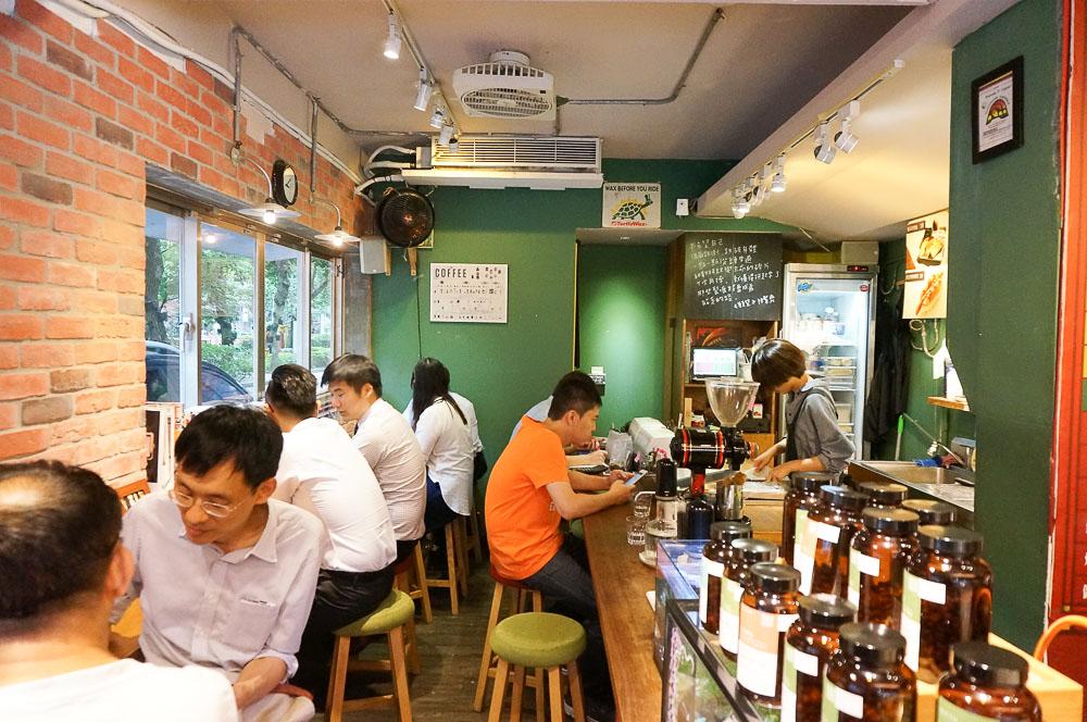 旅沐咖啡, 錦州街咖啡館, 台北下午茶, 旅沐豆行