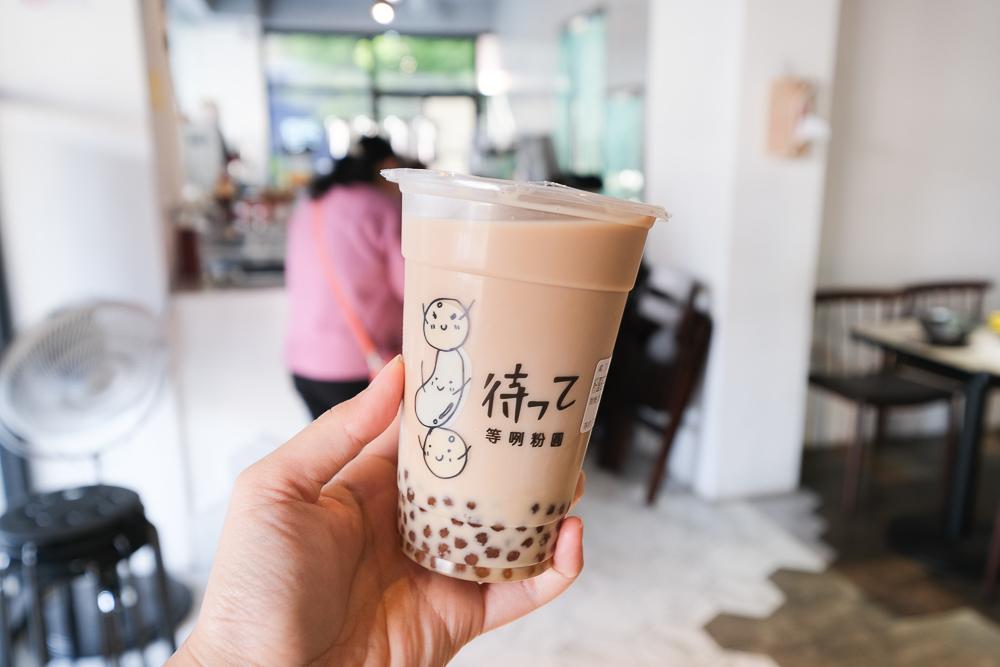 等咧粉圓, 台南小吃, 台南古早味茶飲, 室內溜滑梯, 親子飲料店, 親子餐廳, 粉圓綠豆沙, 粉圓紅茶鮮奶