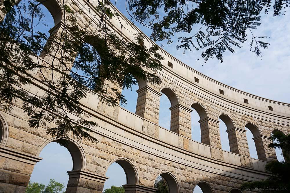 亞洲大學, Asia University, 台中景點, 霧峰景點, 羅馬競技場, 圓頂建築, 安藤忠雄設計, 婚紗地點