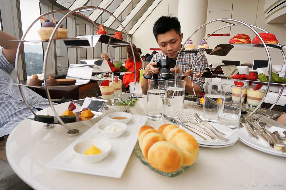 馬可波羅酒廊, 馬可波羅下午茶, Marco Polo Lounge, 香格里拉台北遠東國際大飯店, 大安區美食, 敦化南路美食, 貴婦下午茶, 台北景觀餐廳
