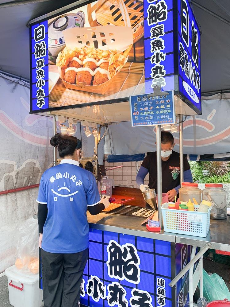 日船 章魚小丸子, 台林街美食, 嘉義美食, 嘉義小吃, 嘉義章魚燒