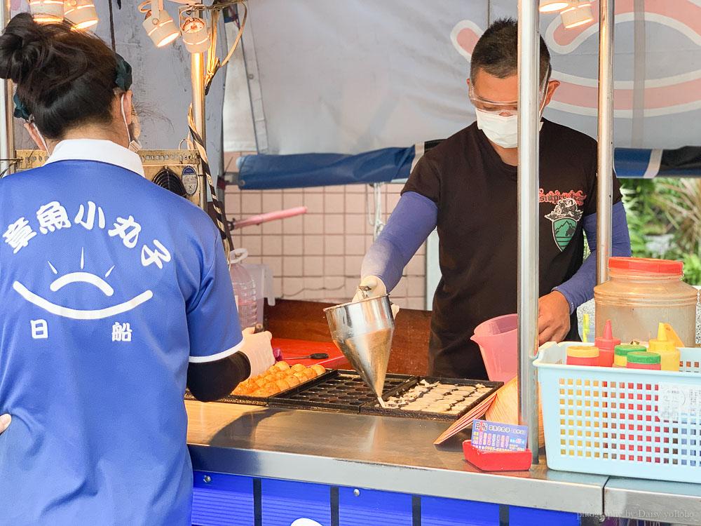 日船章魚小丸子, 台林街美食, 嘉義美食, 嘉義小吃, 嘉義章魚燒