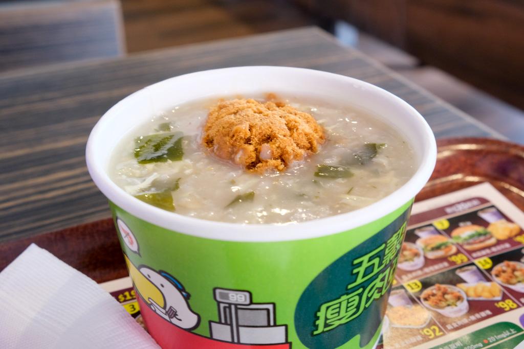 丹丹, 台灣速食店, 仁德美食, 仁德早餐, 台南早餐推薦, 鮮脆雞腿堡, 玉米濃湯, 麵線羹