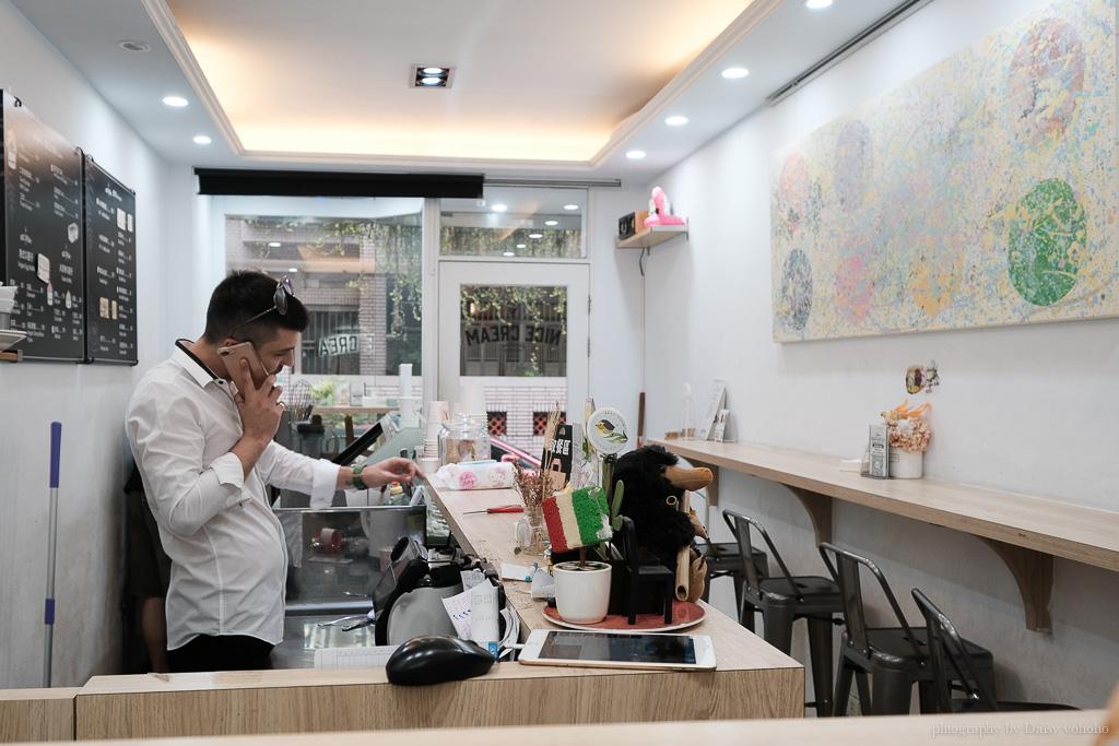 Nice cream, 東區甜點, 東區冰淇淋, 台北義式手工冰淇淋, 忠孝敦化站冰淇淋, 全素冰淇淋, Nice Cream 菜單, 義大利老闆