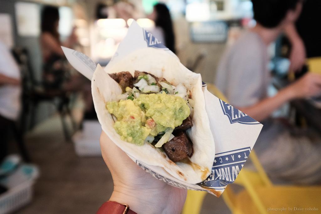 塔可老爹, Twinkeyz Tacos 延吉店, 墨西哥餐廳, 毛加恩餐廳老闆, 墨西哥料理, 塔可老爹外送菜單, 墨西哥餡餅
