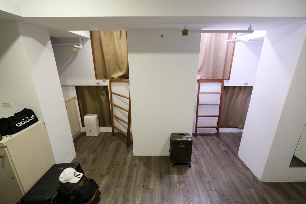 公寓十樓, 住宿心得, 台北車站青年旅館, 公寓10F早餐, 無印風青旅