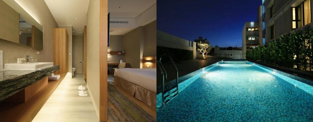 南院旅墅 (South Urban Hotel), 嘉義住宿, 嘉義飯店, 嘉義飯店游泳池