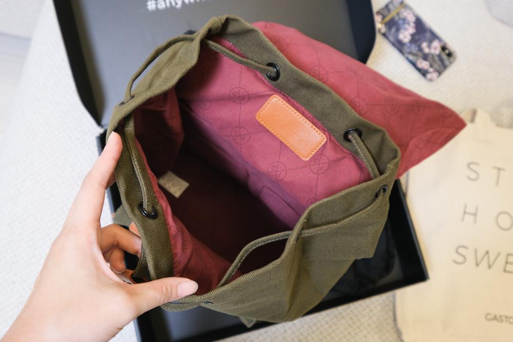 Gaston Luga, Classic 經典後揹包, 橄欖綠, 13吋筆電後背包, 北歐設計雙肩包, 男背包, 全球免運費