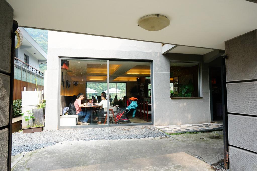 La Villa Cafe, 烏來景觀餐廳, 烏來質感咖啡館, 烏來美食, 烏來咖啡廳, 燕子湖畔景觀餐廳