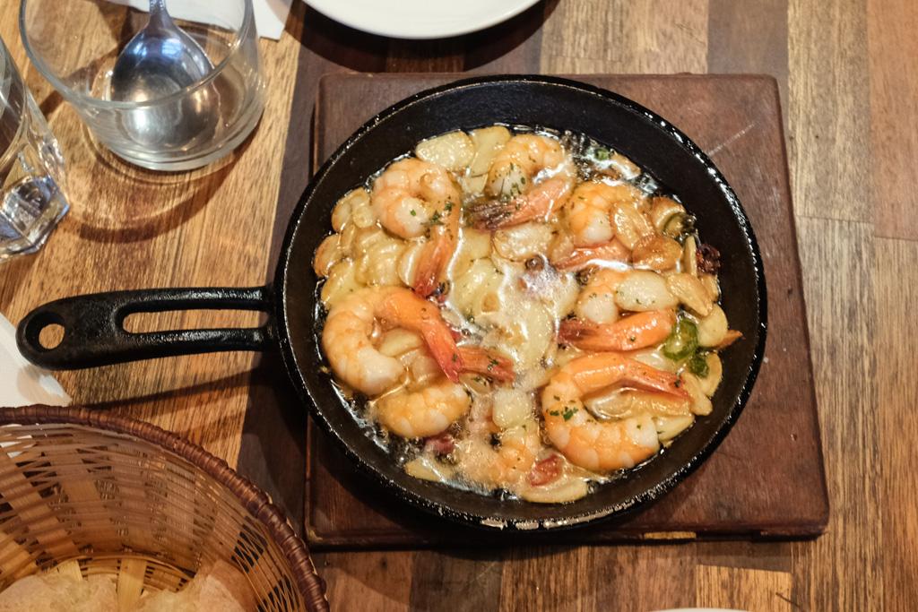 PS TAPAS, 西班牙餐酒館, 東區西班牙料理, 東區美食, PS TAPAS安和店, 西班牙海鮮燉飯, 西班牙蒜油蝦