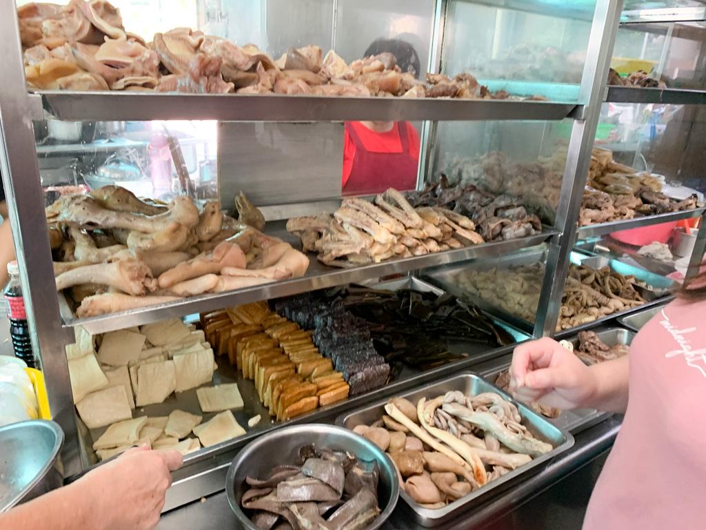 香圃麵店, 古早味麵店, 滷味, 白豆干, 食尚玩家, 台南小吃, 台南麵店, 麻醬麵, 台南老店
