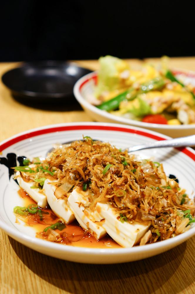 屯京拉麵, 中山站拉麵, 中山站美食, 小妤涼拌豆腐, 奶油玉米菠菜, 超值東京拉麵