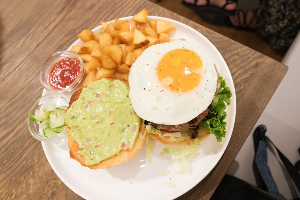 waku waku burger, WakuWaku Burger中山店, 誠品南西美食, 中山站漢堡, 中山站美食, 中山站早午餐