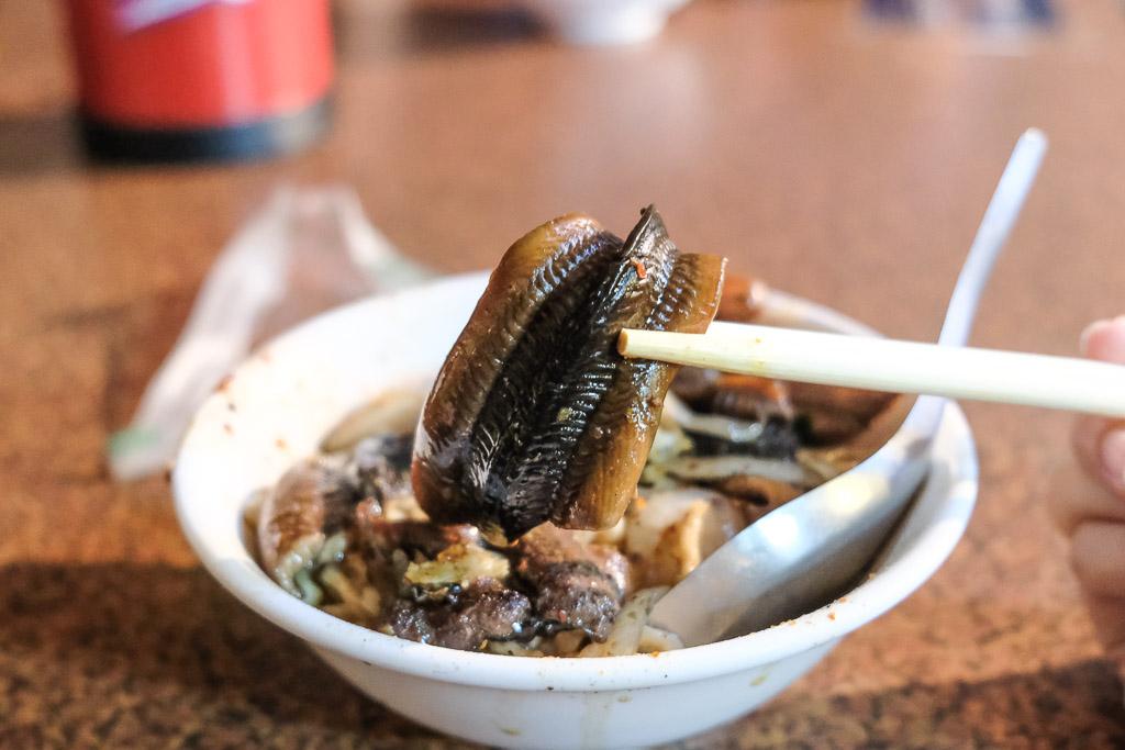 阿江炒鱔魚, 阿江鱔魚意麵, 生炒鱔魚意麵, 阿江鱔魚外帶, 台南民族路美食, 台南小吃