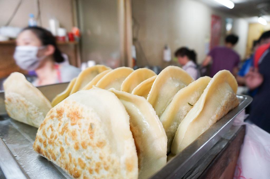 金許園早餐, 蔥油餅, 餡餅, 韭菜盒子, 金門美食, 金湖美食, 金門早餐, 金門蛋餅