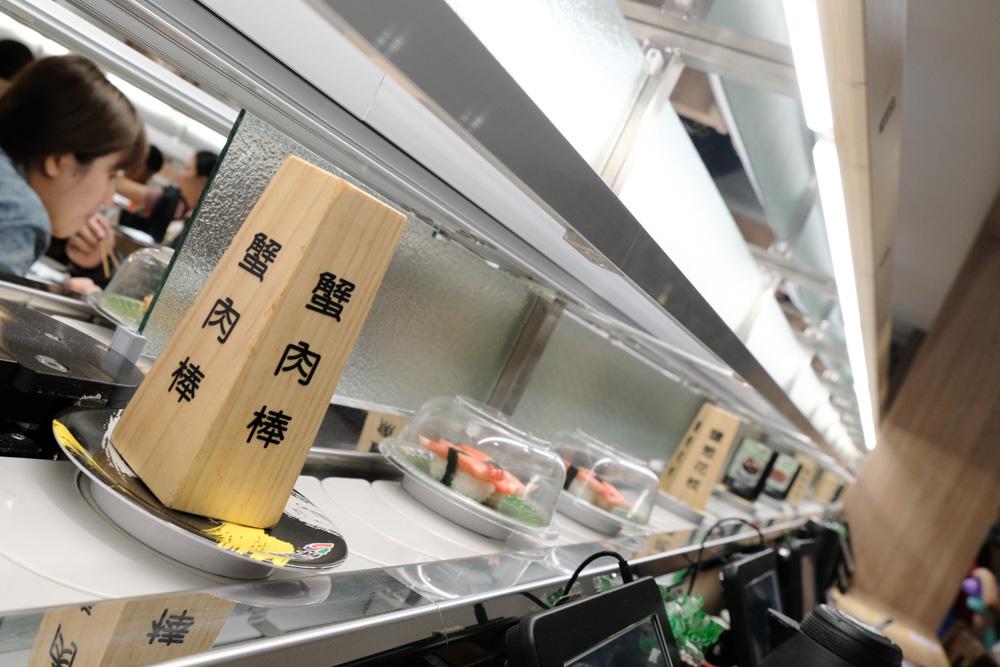 平禄寿司, 平祿壽司, 台中北區美食, 台中迴轉壽司, 仙台平價迴轉壽司, 松阪豬握壽司, 平路壽司訂位